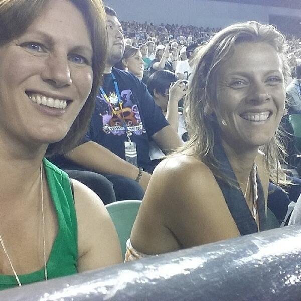 Laney and me at the tennis