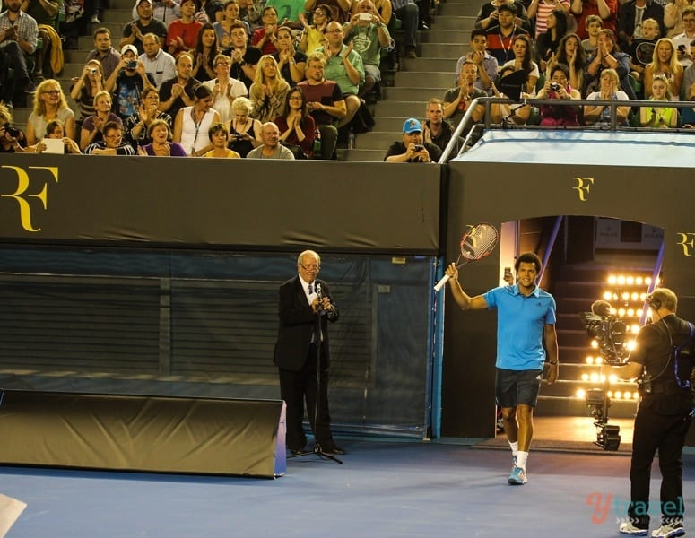 Federer and Friends charity match Aussie Open (2)