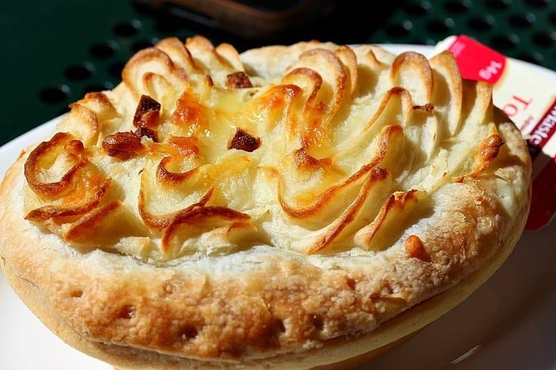 Potato Pie at Beechworth Cafe