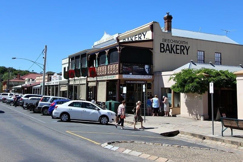 Beechworth Cafe, Victoria, Australia