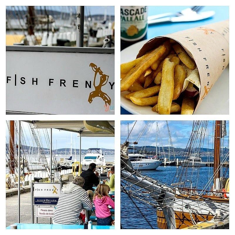 Fish Frenzy, Hobart, Tasmania
