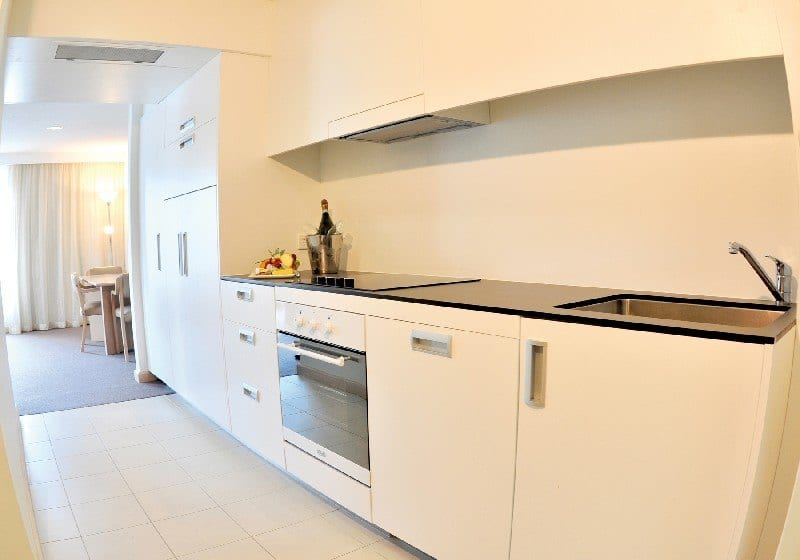 Salamanca Inn hobart kitchen