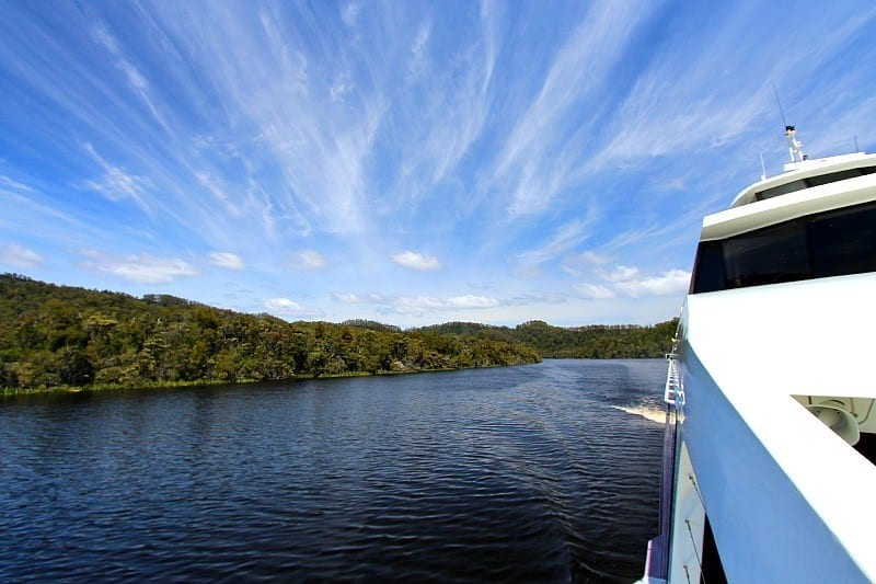 Gordon River Cruise, Tasmania, Australia