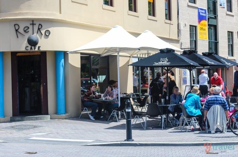 Retro Cafe, Hobart, Tasmania