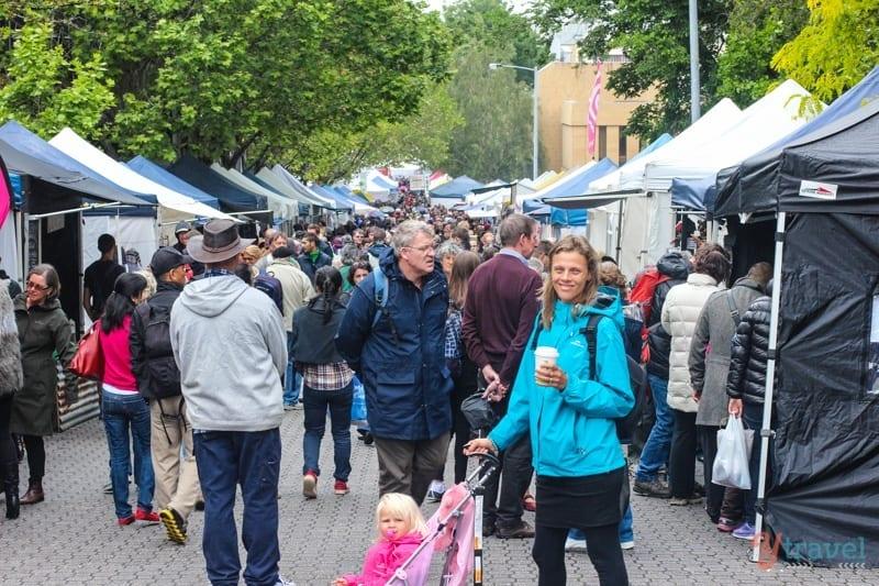 Salamanca Markets, Tasmania, Australia