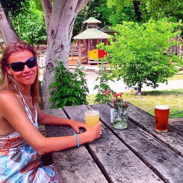Bright Brewery Beer Garden