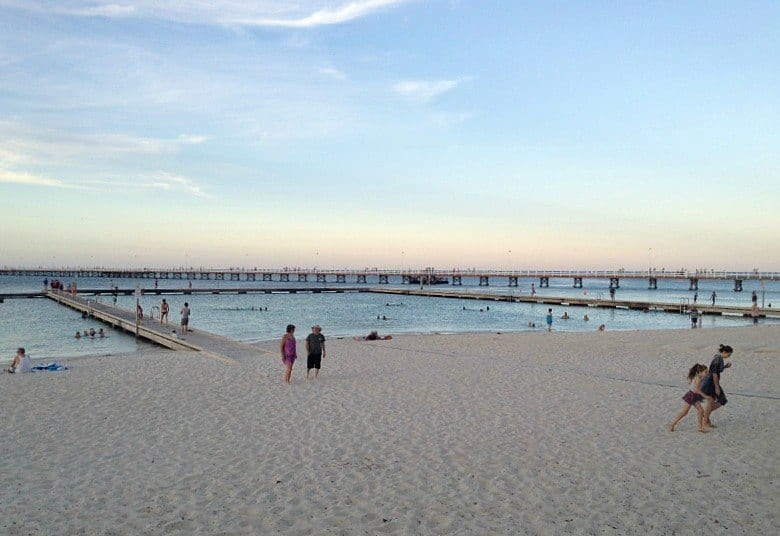 Visiting Busselton Beach in Western Australia, south of Perth