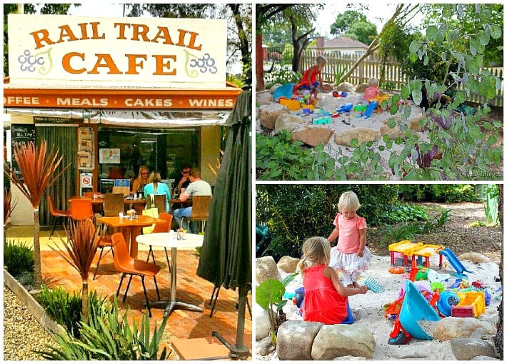 Family friendly Rail Trail Cafe