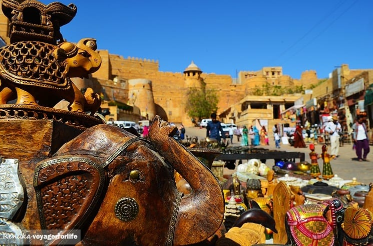 Fort d'or à Jaisalmer