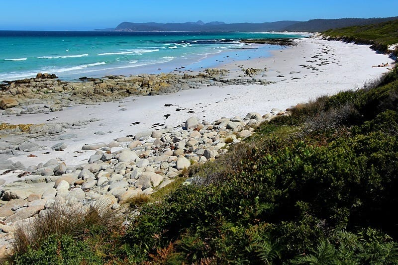 Friendly Beaches, Tasmania, Australia