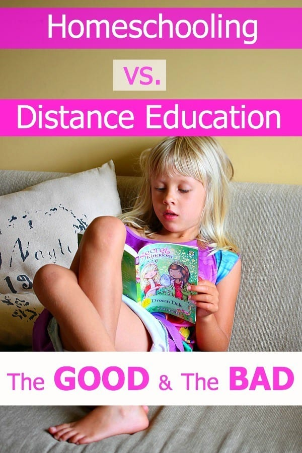 Homeschooling & Distance Education - The GOOD + The BAD