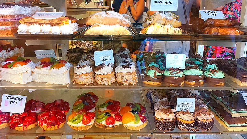 cakes on Acland street