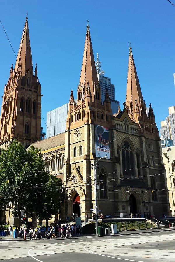 St Paul's Cathedral, Melbourne, Australia