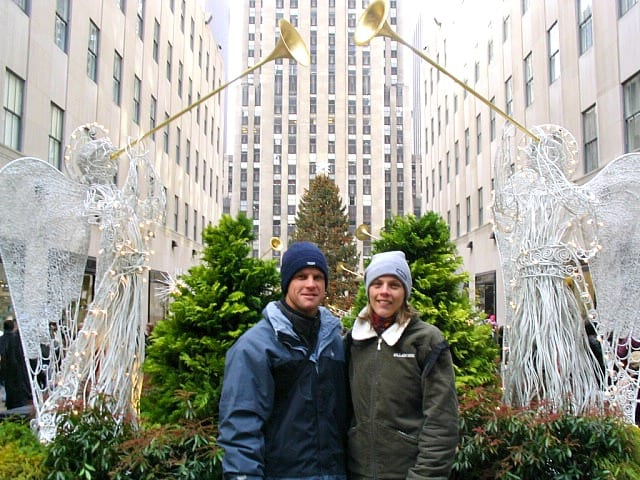 at Rockefeller Plaza in 2003