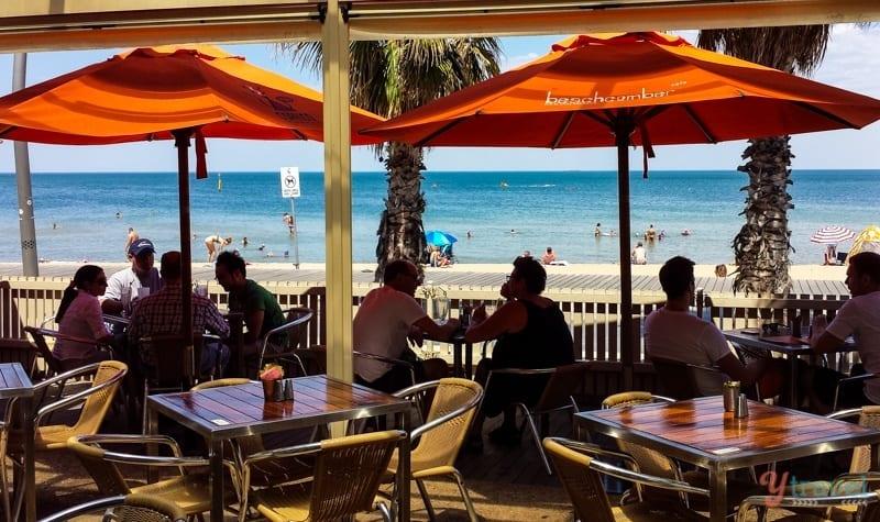 Beachcomber Cafe St Kilda Beach