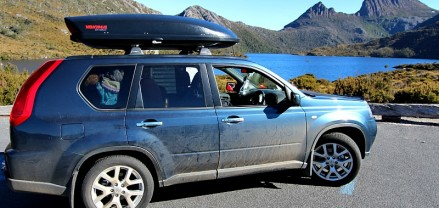All packed in at Cradle Mountain Tasmania