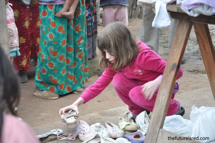 Volunteering with children South America