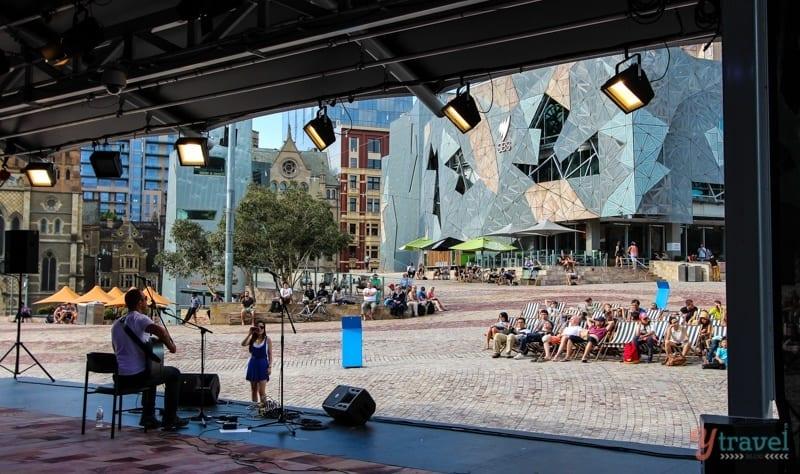 Federation Square - Melbourne, Australia