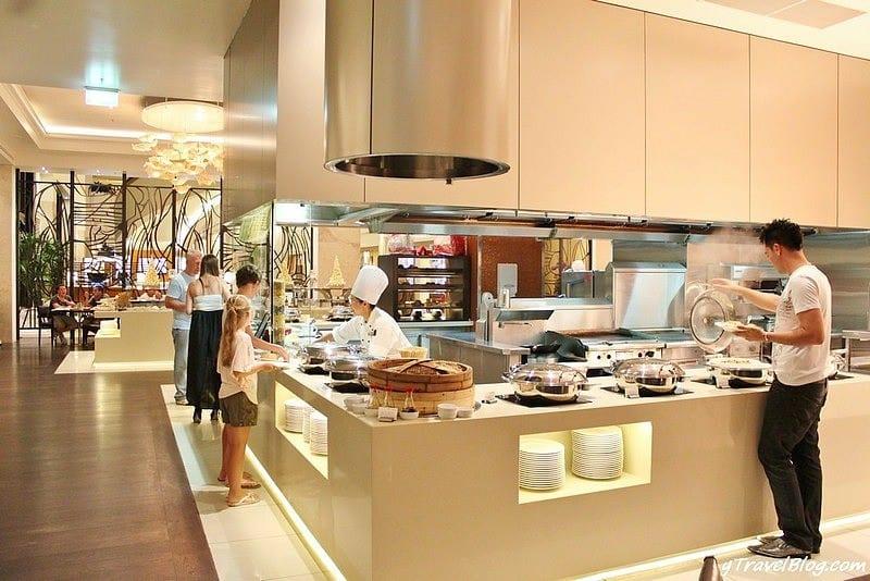 Restaurant buffet de fruits de mer Citrique au Marriott