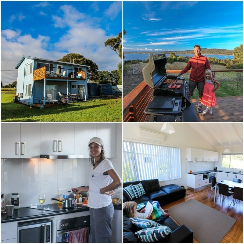 We found this 3 bed home in Coles Bay near famous Wineglass Bay in Tasmania on Stayz.com.au