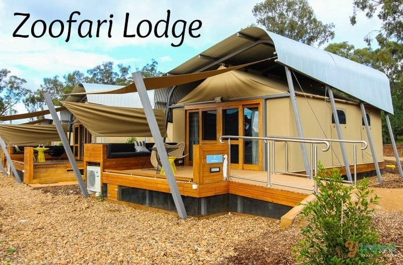 Zoofari Lodge - Dubbo Zoo, NSW, Australia