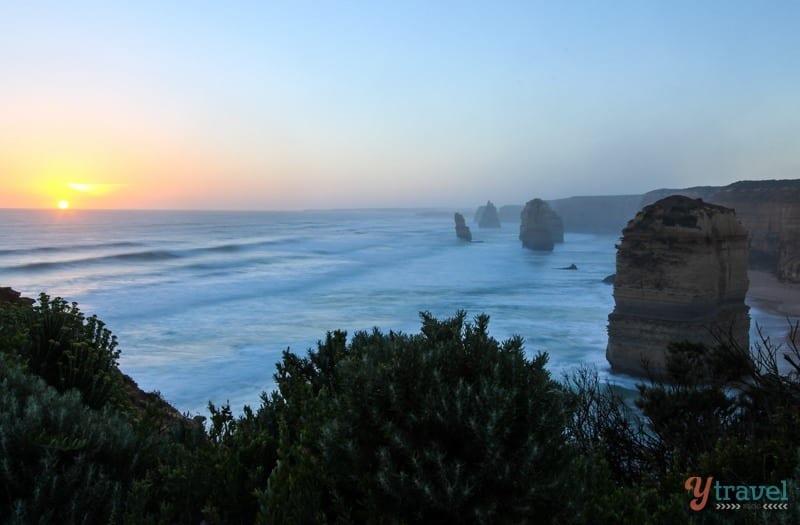 The Twelve Apostles at sunset - Great Ocean Road, Australia