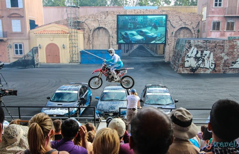 Stunt Show - Movie World, Gold Coast