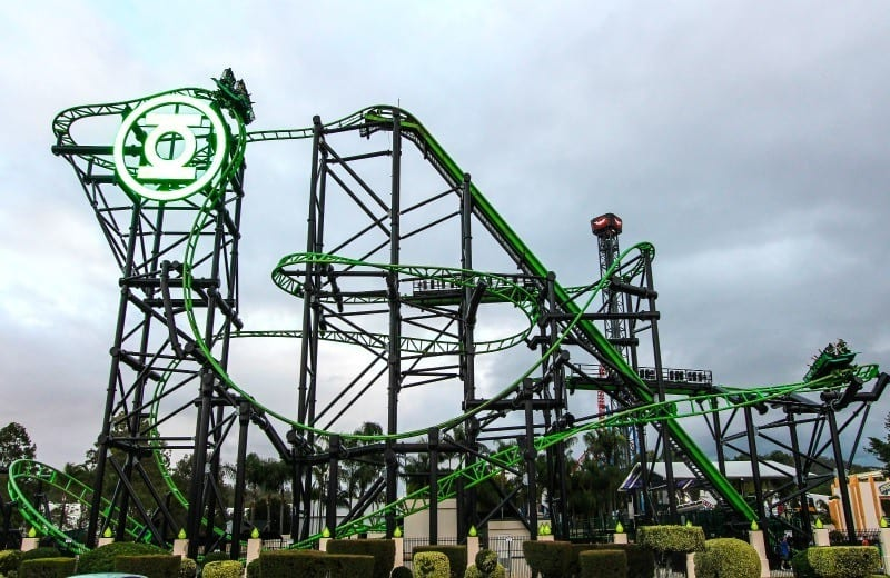 Green Lantern Coaster - Movie World, Gold Coast, Australia