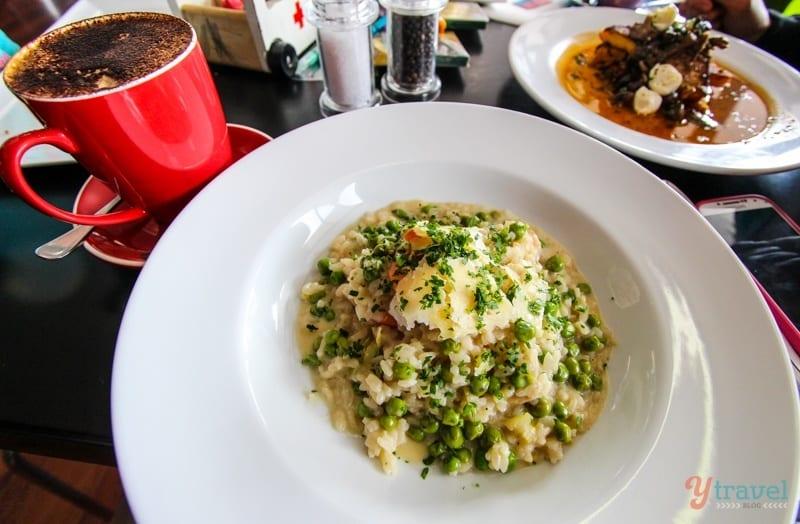 Risotto - Pure & Olive Cafe, Armidale, Australia