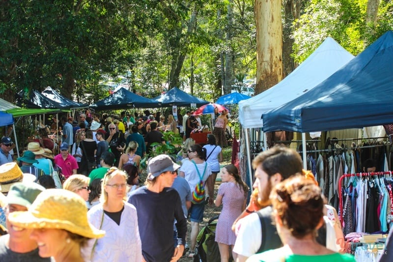 Bellingen Markets, NSW, Australia