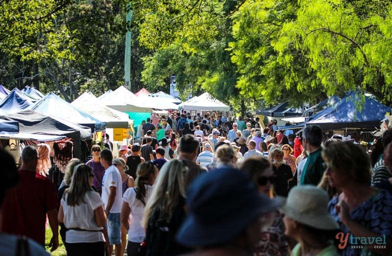 Bellingen Markets - NSW, Australia