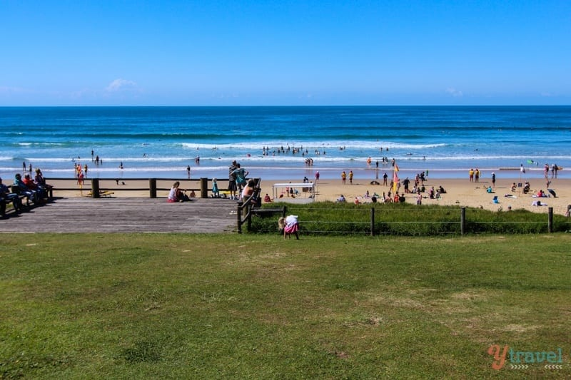 Sawtell Beach, NSW, Australia