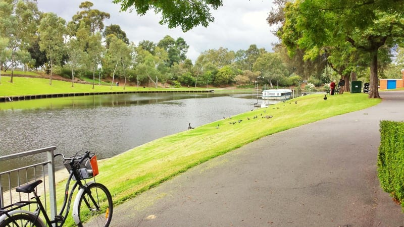 bike riding Adelaide