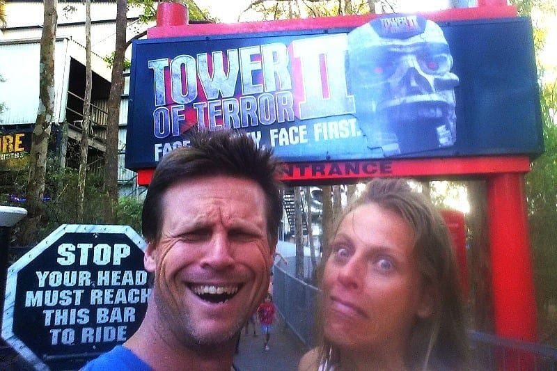 Tower of Terror - Dreamworld, Gold Coast