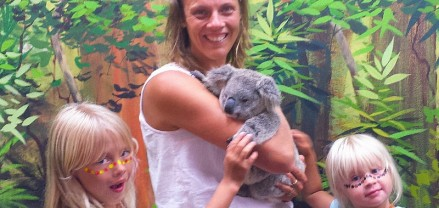 Cuddle a Koala - Dreamworld, Gold Coast, Australia