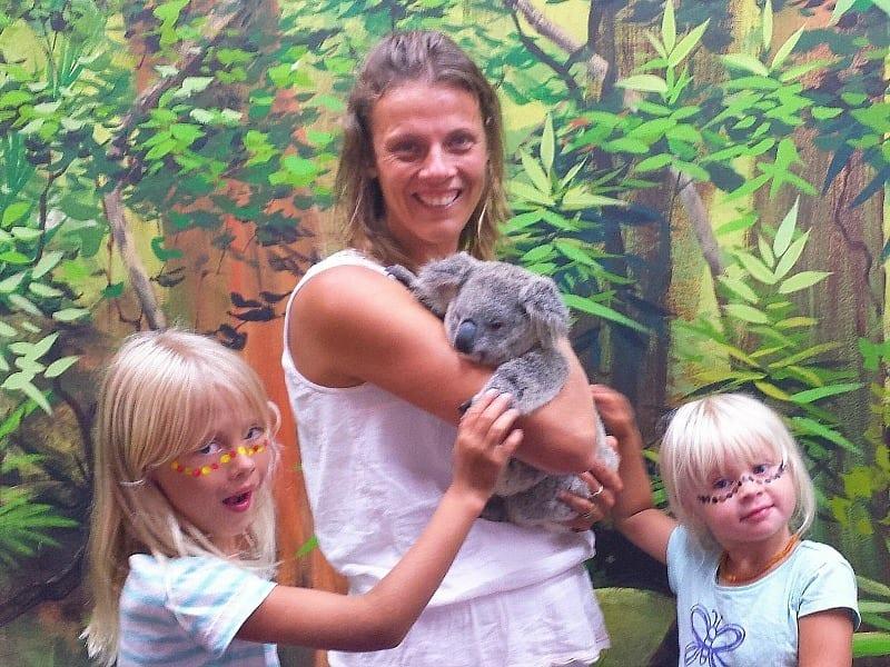 Cuddle a Koala - Dreamworld, Gold Coast, Australia