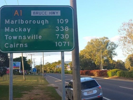 17,000 Kilometre's around Australia