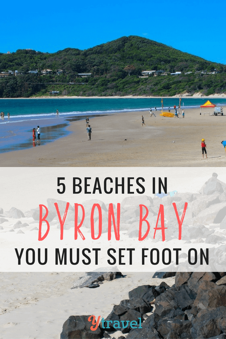 The Byron Bay beaches are legendary around the world, drawing millions of visitors per year, many never leave. Check out these 5 beaches of Byron Bay NSW!