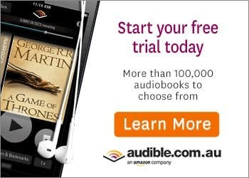 Australian audible audiobooks