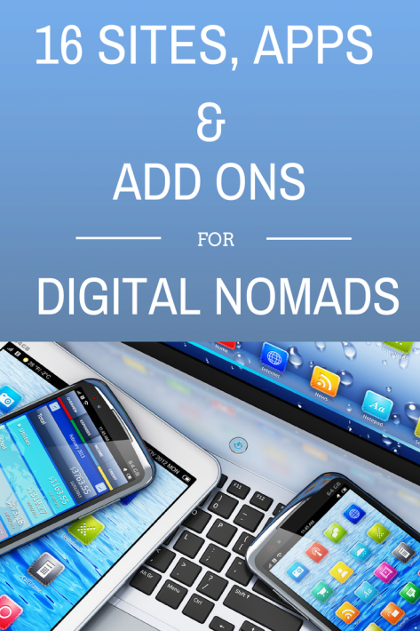 16 Apps & Websites for Digital Nomads