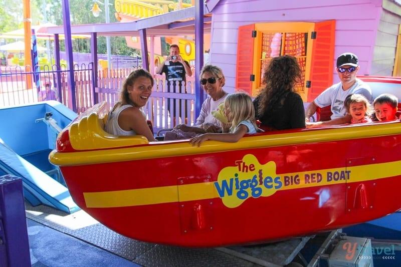 Wiggels World - Dreamworld, Gold Coast, Australia