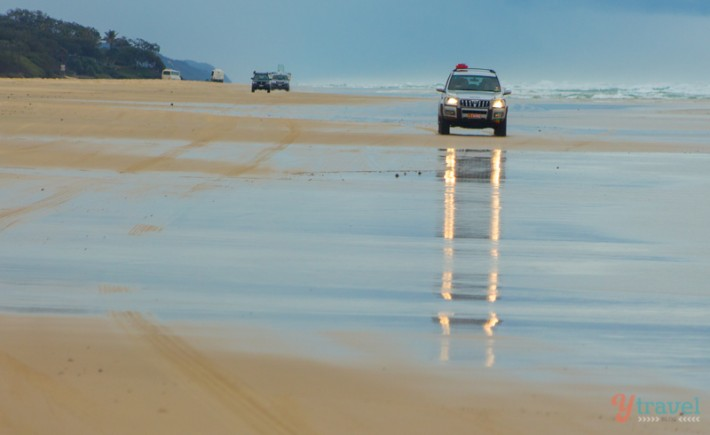 75 Mile Beach - Fraser Island, Queensland, Australia