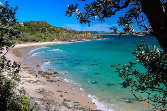 Wategos Beach, Byron Bay, NSW, Australia