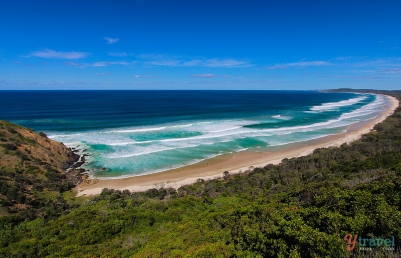Tallows Beach, Byron Bay, NSW, Australia