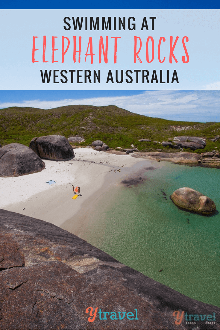Just when we thought the west coast of Australia couldn't get any more stunning, take a swim at Elephant Rocks in Denmark and you'll be wowed!