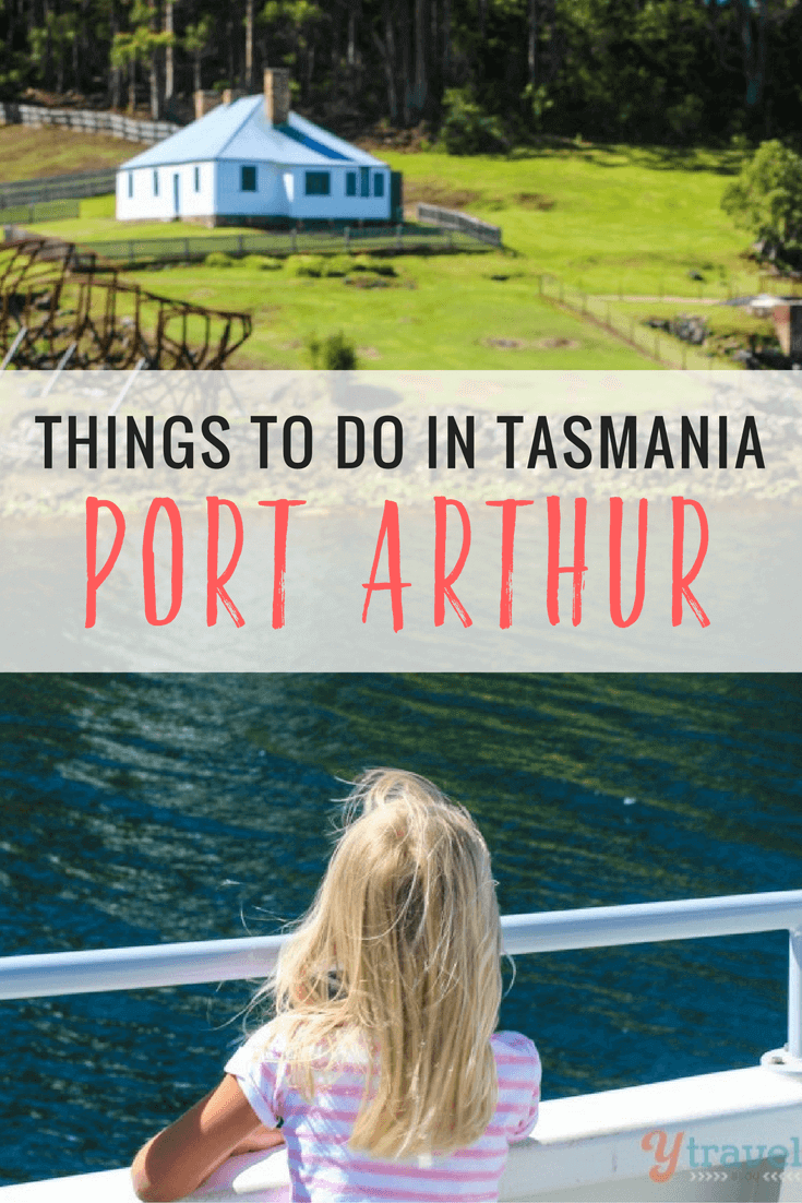 One of the best things to do in Tasmania is to visit the Port Arthur Historic Site including a ghost tour. It's a place of sadness mixed with beauty and history.