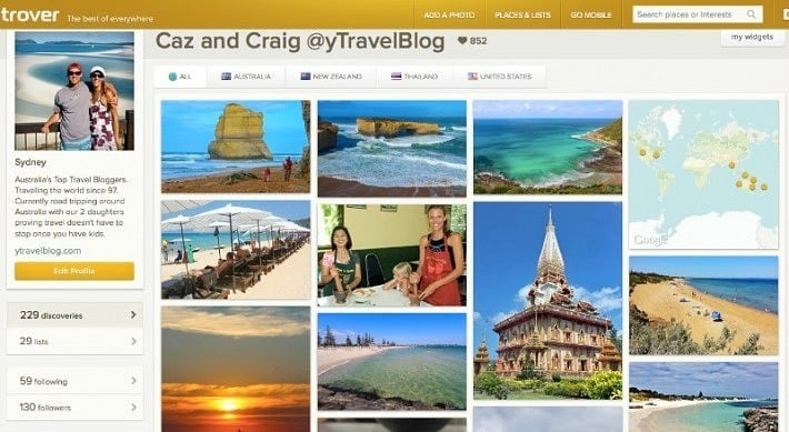 A look at the new travel app TROVER
