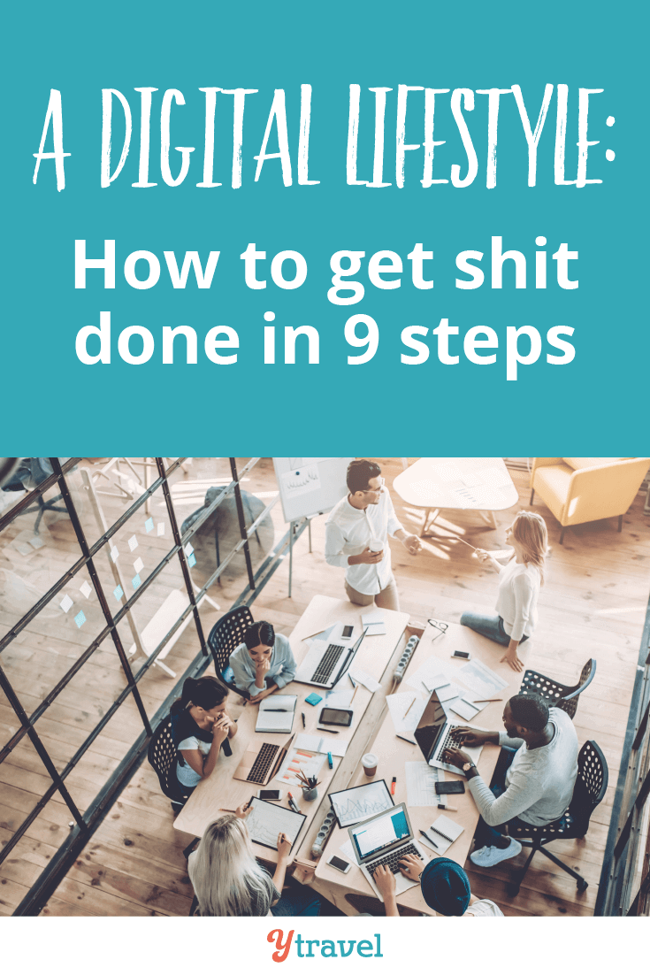 9 tips to get shit done in a digital world.