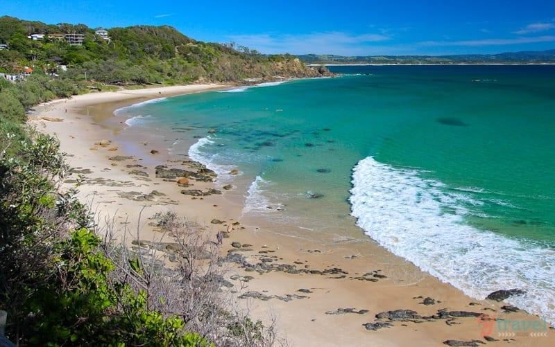 Playa de Wategos, NSW, Australia