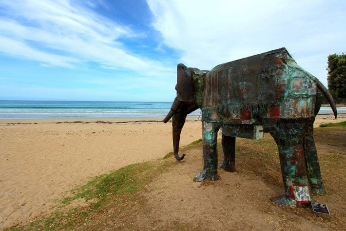 Lorne Sculpture Festival, Great Ocean Road, Australia